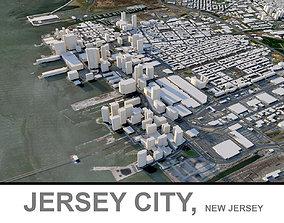 Jersey City in New Jersey 3D asset