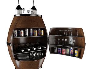 Bar Barrels 3D