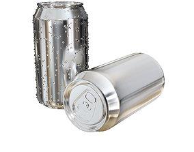3D model aluminium can