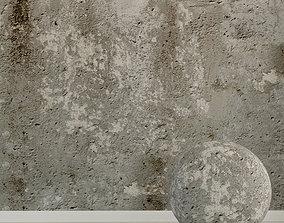 Concrete wall Old concrete 133 3D model