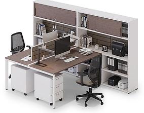 3D Office workspace LAS OXI v2
