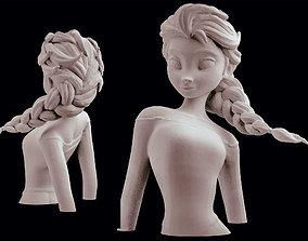 Disney Elsa Frozen Statue Sculpt 3D Princess printing