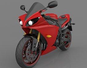 Yamaha YZF R1 2011-2014 3D Model Ready to Print STL File