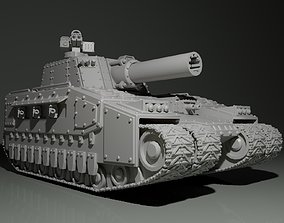 Heavy Tank 3D printable model military