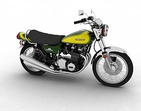 3D Kawasaki Z1 900 1972
