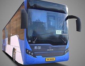 3D asset realtime Scania Bus