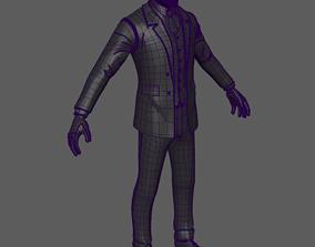 3D asset character costume
