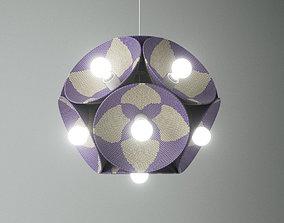 3D Stephen Burks Man Made Starburst Lamp