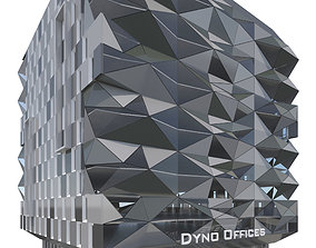 Commercial Building-016 Office Tower 3D