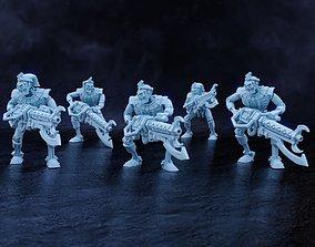 Star Pharaohs - Khopesh Warriors 3D printable model