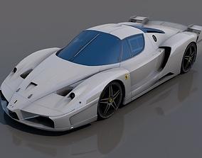 Ferrari fxx 3D model low-poly