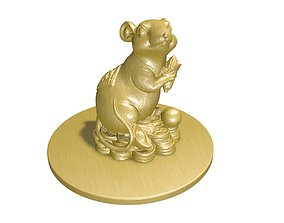 3D model China mouse