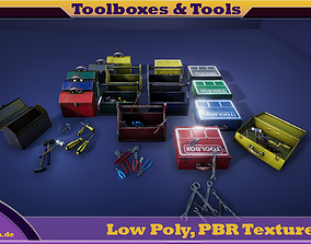 PBR Toolboxes and Tools 3D model
