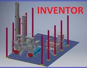 tool Factory Design Model Inventor 3D