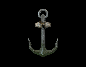 Anchor 3D model realtime