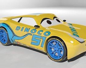 3D model Cruz Ramirez Cars 3 Character
