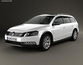 3D Volkswagen Passat B7 Alltrack 2011