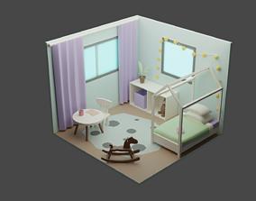 3D asset Child Room 4