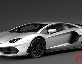 Lamborghini Aventedor SVJ 2019 3D
