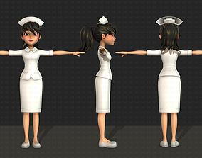 3D character Nurse