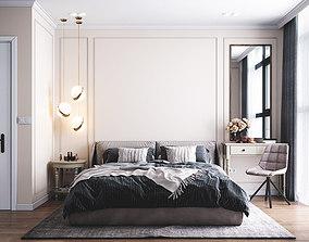 3D model Bedroom Design 1