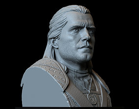 Geralt of Rivia from The Witcher 3D print model