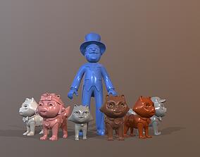 Paw Patrol Catastrophe Crew 3D printable model