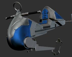 geonosian speeder custom 3D print model