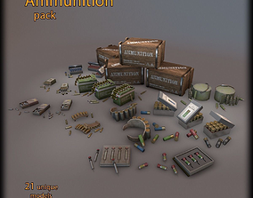 Ammunition pack 3D model