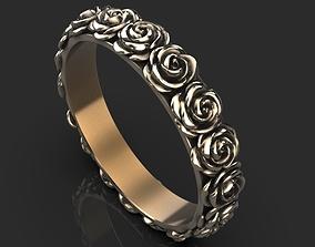 ring rose 3D print model