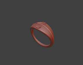 Simple Dinasour Ring 3D print model