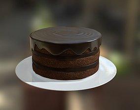 Cake Round 3 3D model