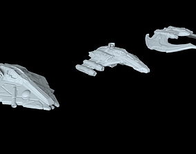 Starfighters 3D printable model