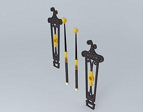 The Grand Staircase Banister Segments 3D model