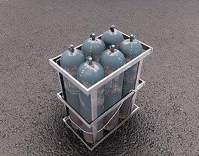 Balon GameReady model low-poly