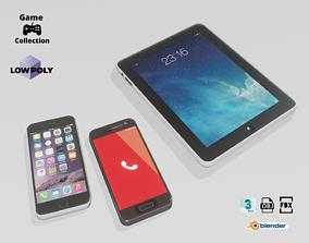 3D asset Smartphones and tablet