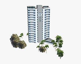 Monaco Tower 3D model