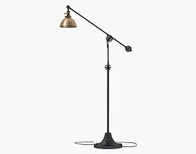 INDUSTRIAL ERA TASK FLOOR LAMP ANTIQUE 3D model