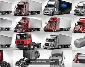 Trucks Collection 3D model