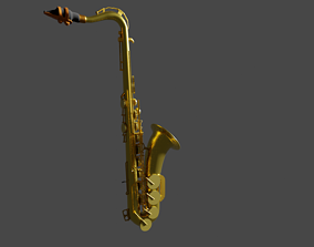 engineering-parts 3D model Saxophone