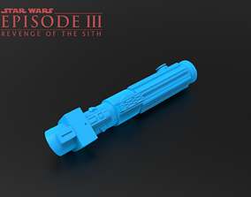 Darth Vader ROTS Lightsaber 3D printable model