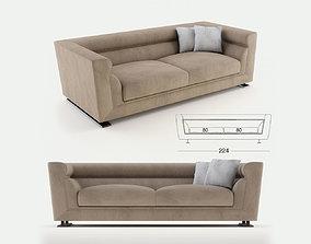 Longhi - Ansel sofa 02 3D