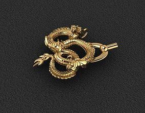 3D print model Dragon 4 trex