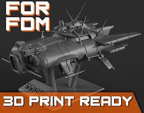 Immortal flying car for FDM printers 3D printable model
