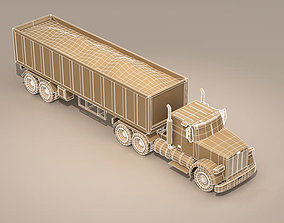 Us construction truck 3D model