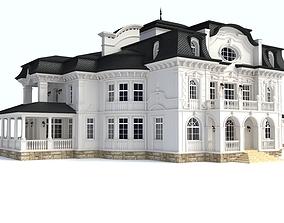apartment luxury House 3D model