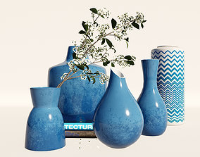 Blue vase 3D model