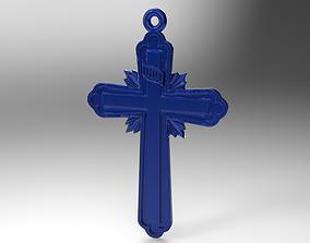 church cross 4 3D print model