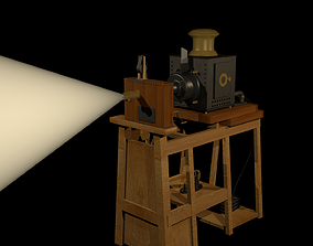 Lumiere Projector 3D