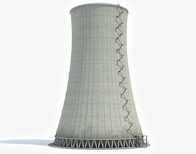 3D model Nuclear Cooling Tower